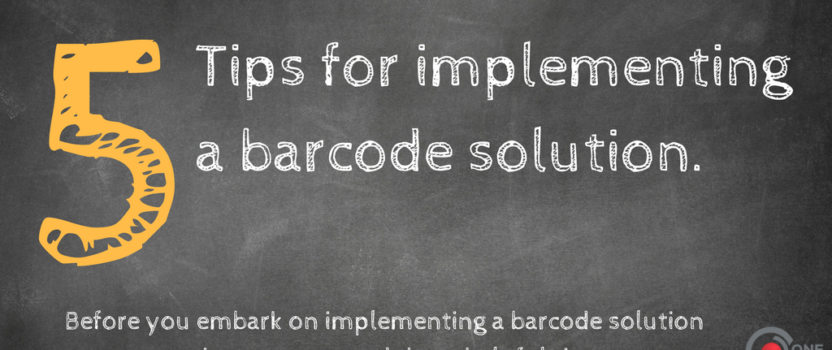 Warehouse Management Technology: Implementing a Barcode System
