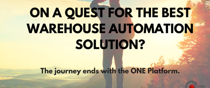 Your Quest for Great Warehouse Automation Nears Its End